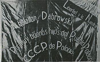 Bandera Batallón Dabrowski