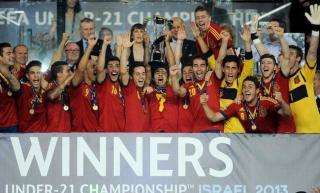 España campeona de euroa sub 21